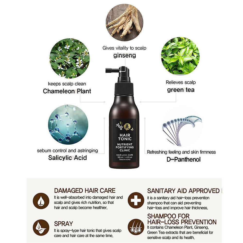 Tosowoong Hair Tonic (Nutrient Fortifying Clinic)