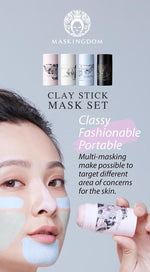 Maskingdom Clay Stick Mask Set