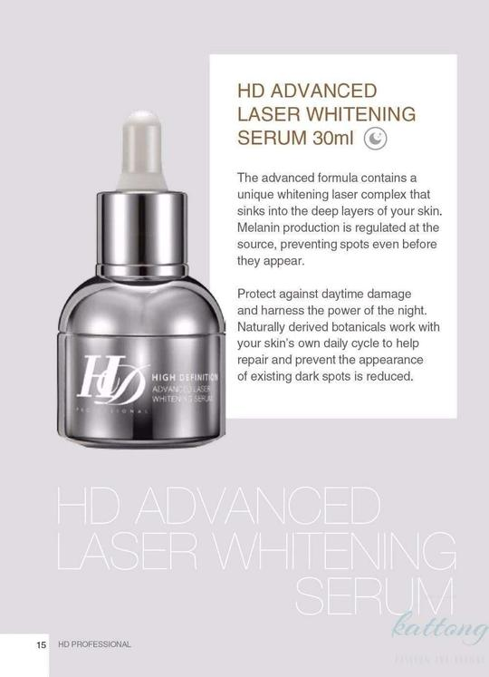 HD Laser Whitening Serum Bundle