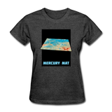 Mercury's surface where MESSENGER landed - Space Themed Tshirt Womens - heather black