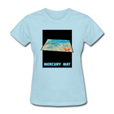 Mercury's surface where MESSENGER landed - Space Themed Tshirt Womens - powder blue