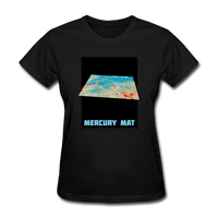 Mercury's surface where MESSENGER landed - Space Themed Tshirt Womens - black
