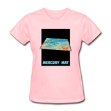 Mercury's surface where MESSENGER landed - Space Themed Tshirt Womens - pink
