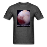 Hues of Pluto Space Themed Tshirt - Mens - heather black
