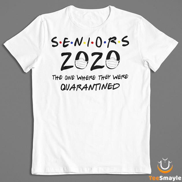 Seniors 2020 Quarantined T-Shirt - TeeSmayle