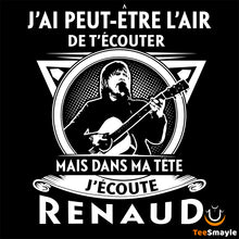 Load image into Gallery viewer, Tee Shirt Renaud | Dans ma tête - TeeSmayle