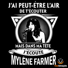 Load image into Gallery viewer, Tee Shirt Mylène Farmer | Dans Ma Tête - TeeSmayle