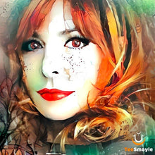 Load image into Gallery viewer, Tee Shirt Mylène Farmer | Illustration - TeeSmayle