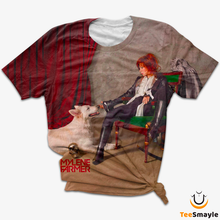 Load image into Gallery viewer, Tee Shirt Mylene Farmer | Avec chien - TeeSmayle