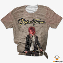 Load image into Gallery viewer, Tee Shirt Mylène Farmer | Épaie - TeeSmayle