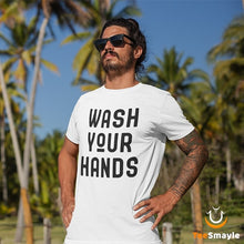 Load image into Gallery viewer, Coronavirus T-Shirt - Wash Your Hands - TeeSmayle