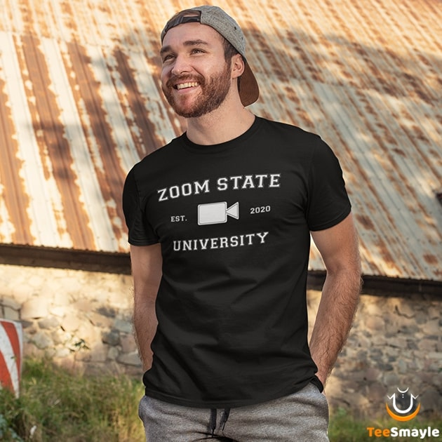 Zoom State University T-Shirt - TeeSmayle