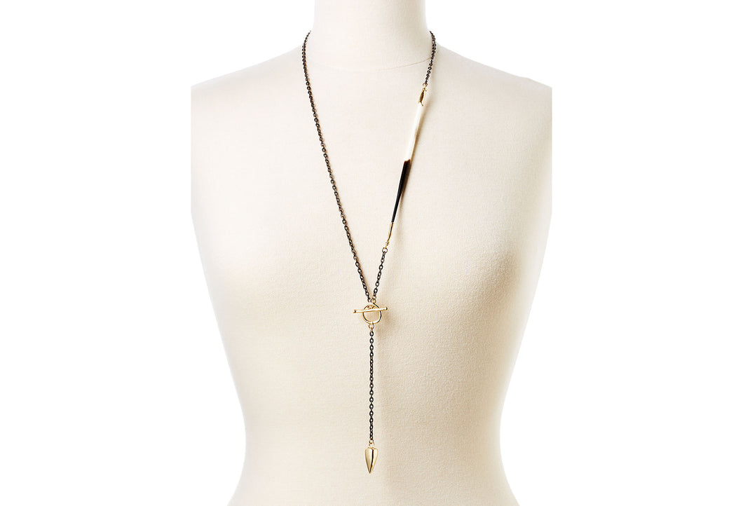 Quill Lariat Necklace