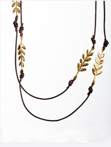 5 Olive Branch Necklace