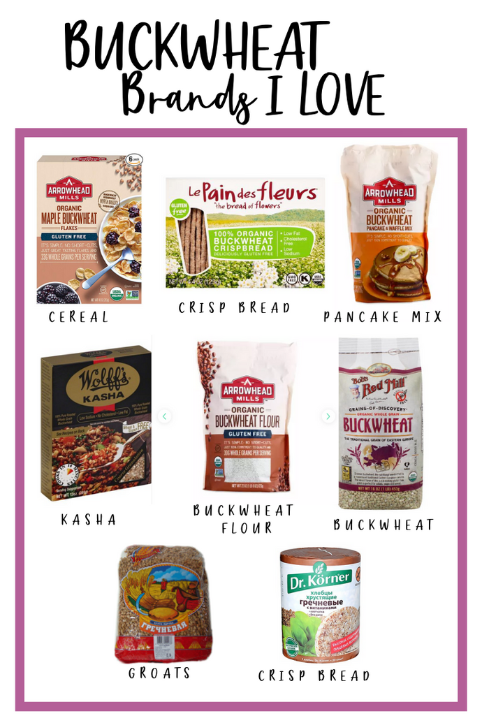 Buckwheat Brands I LOVE!