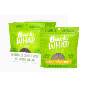 Buckwhat Simply Sunflower Noshes Cookies Buckwhat Noshes
