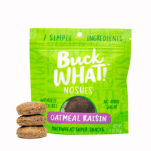 BuckWHAT! Noshes Oatmeal Raisin