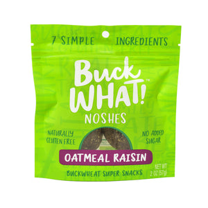 BuckWHAT! Oatmeal Raisin Noshes