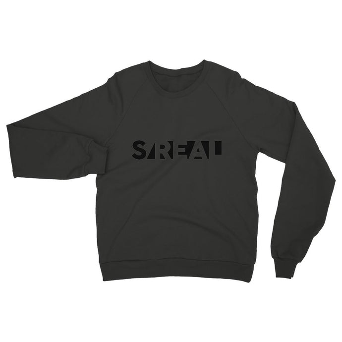 S/REAL black Womens Sweatshirt