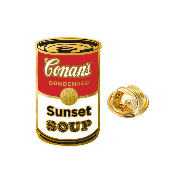 SUNSET SOUP ENAMEL PIN