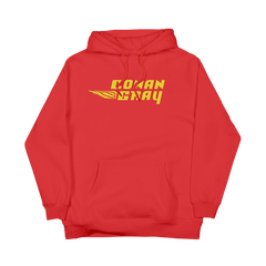 LOGO SUNSET TOUR 2019 RED HOODIE
