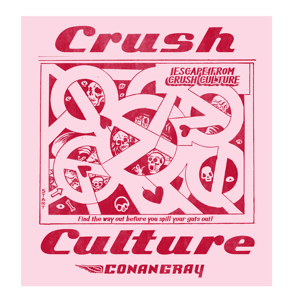 Crush Culture Maze Sticker Sheet