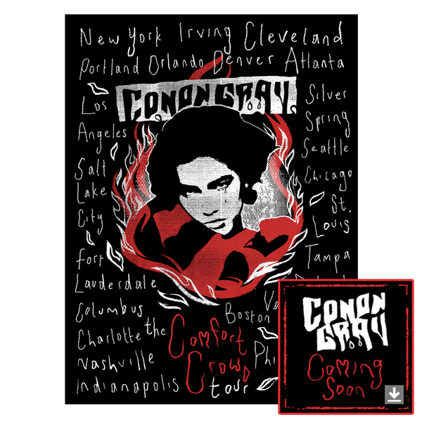CONAN GRAY - 2019 TOUR POSTER + DIGITAL ALBUM DOWNLOAD