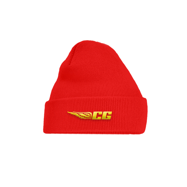 CG WING RED BEANIE