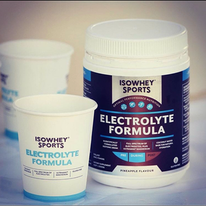 IsoWhey Sports delivering optimal nutrition for runners