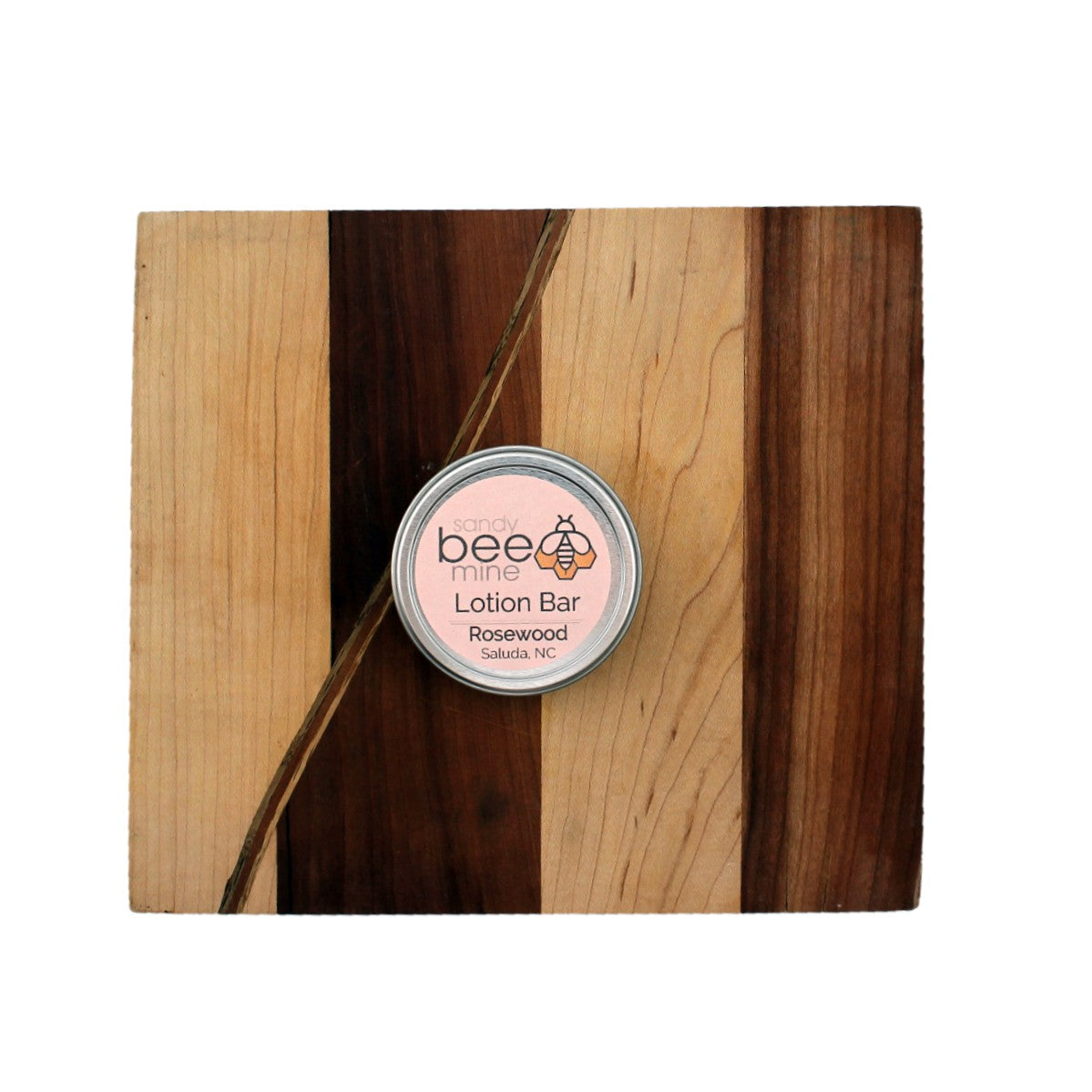 Rosewood Hard Lotion Bar