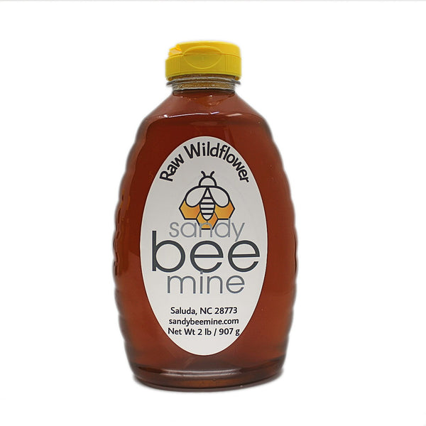 Wildflower Honey, Classic Containers-Honey-sandybeemine-2 lb-sandybeemine