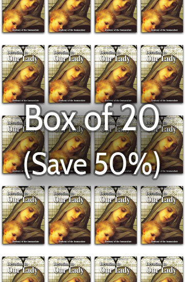 Devotion to Our Lady 50% bulk discount