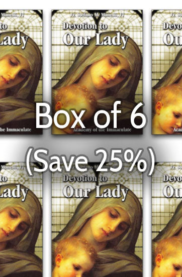 Devotion to Our Lady 25% bulk discount