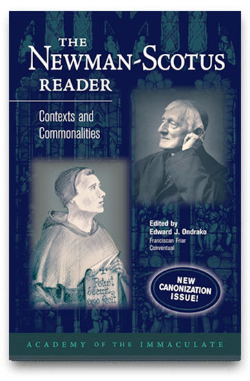The Newman-Scotus Reader: Contexts and Commonalities (Canonization Issue)