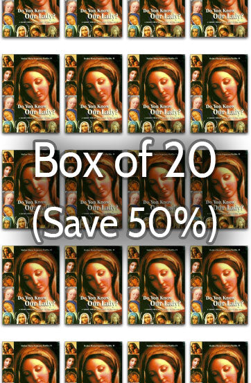 Do You Know Our Lady 50% bulk discount
