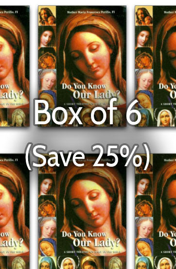 Do You Know Our Lady 25% bulk discount