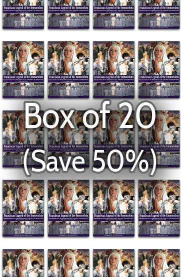 Franciscan Legend of the Immaculate 50% bulk discount