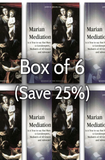 Mary's Maternal Mediation 25% bulk discount
