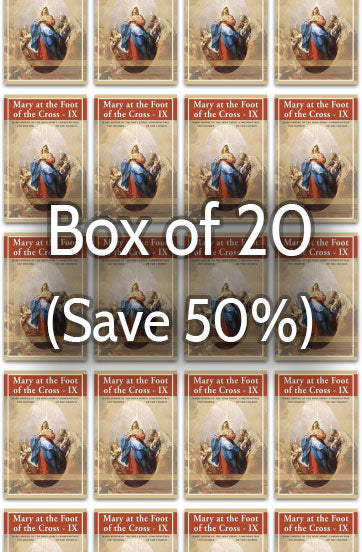 Mary at the Foot of the Cross 9: Mother of the Church 50% bulk discount