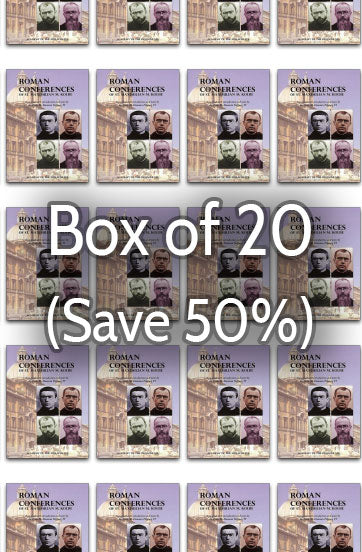 Roman Conferences of St. Maximilian M. Kolbe 50% bulk discount