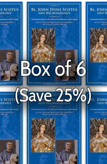 Bl. John Duns Scotus and His Mariology 25% bulk discount