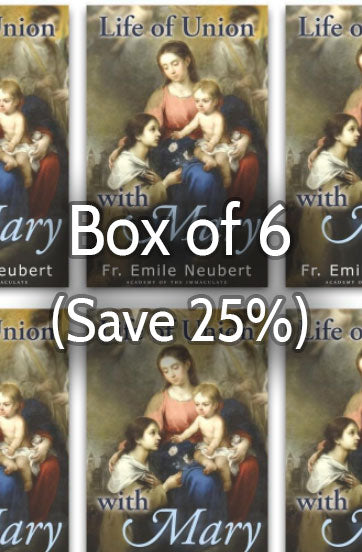 Life of Union with Mary 25% bulk discount