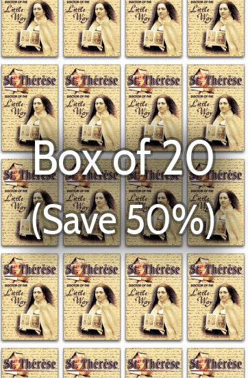 St. Therese: Doctor of the Little Way 50% bulk discount