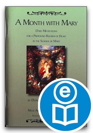 A Month With Mary Ebook
