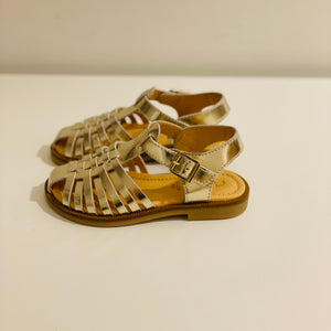 Sandales Semi-ouvertes Ocra Gold Mirror
