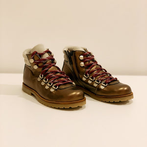 Bottines Montagnardes Ocra Bronze