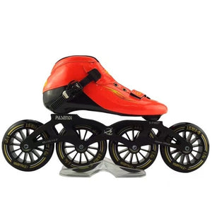 inline speed skating shoes Professional Adults inline roller skates pasendi inline racing skate 3x125 4x100 4x110 4x90 - Evoke Direct