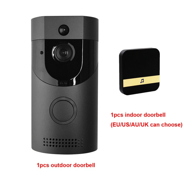 CDYCAM Waterproof 720P HD Wireless WiFi Video Doorbell with Night Vision Camera - Evoke Direct