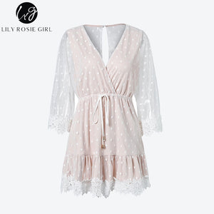 Racey Lacey - Lacy Mini Dress - Evoke Direct