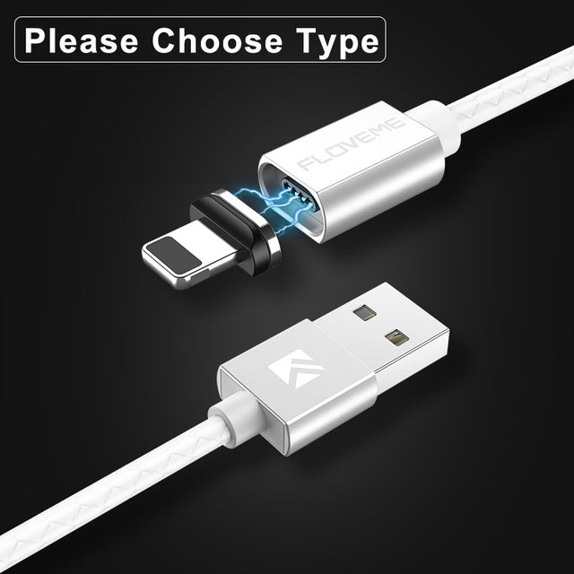 FLOVEME 3A Magnetic USB Cable for iPhone - Evoke Direct
